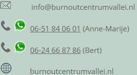 Burn-out centrum De Vallei - Contactgegevens